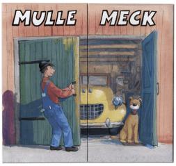 Mulle Mecks egna fina brevpapper!Kuligt att ge, kuligt att få!
